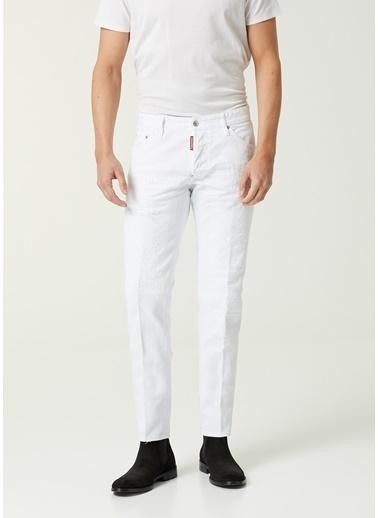 Dsquared2 Dsquared2 X Black Bull  Jean Pantolon 101627941 Beyaz